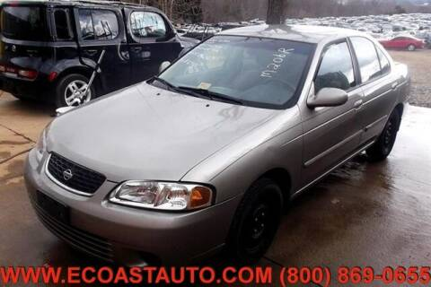 2001 Nissan Sentra for sale at East Coast Auto Source Inc. in Bedford VA