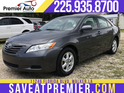 2007 Toyota Camry for sale at Premier Auto Wholesale in Baton Rouge LA