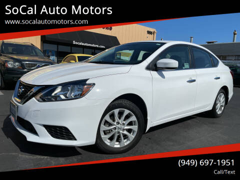 2019 Nissan Sentra for sale at SoCal Auto Motors in Costa Mesa CA