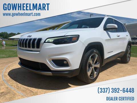 2020 Jeep Cherokee for sale at GOWHEELMART in Leesville LA