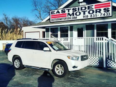2009 Toyota Highlander for sale at EASTSIDE MOTORS in Tulsa OK