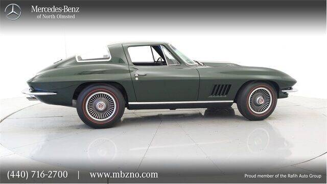 1967 Chevrolet Corvette for sale at Mercedes-Benz of North Olmsted in North Olmsted OH