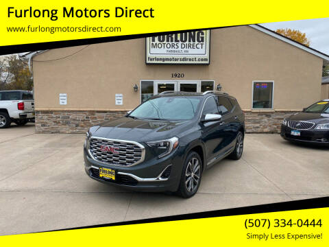 2018 GMC Terrain for sale at Furlong Motors Direct in Faribault MN