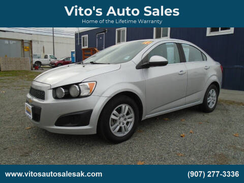 2014 Chevrolet Sonic for sale at Vito's Auto Sales in Anchorage AK