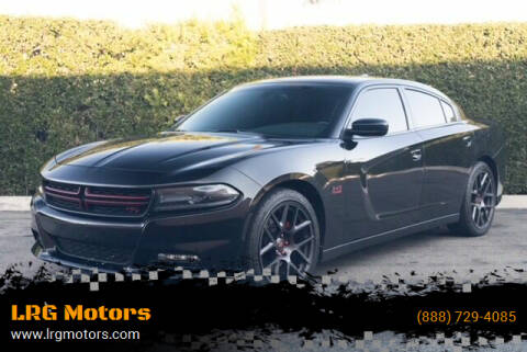2015 Dodge Charger for sale at LRG Motors in Montclair CA