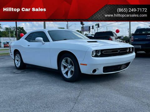 2016 Dodge Challenger for sale at Hilltop Car Sales in Knoxville TN