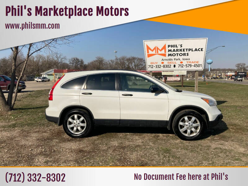 2009 Honda CR-V for sale at Phil's Marketplace Motors in Arnolds Park IA