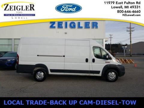 2015 RAM ProMaster Cargo for sale at Zeigler Ford of Plainwell- michael davis in Plainwell MI