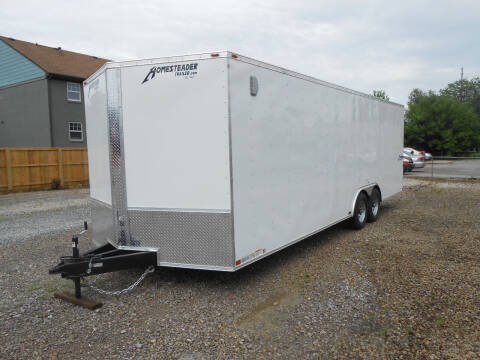 2021 Homesteader Intrepid 8.5x24 for sale at Jerry Moody Auto Mart - Trailers in Jeffersontown KY