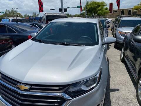 2018 Chevrolet Equinox for sale at America Auto Wholesale Inc in Miami FL