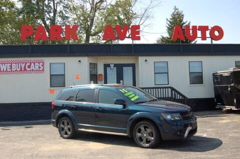 2015 Dodge Journey for sale at Park Ave Auto Inc. in Worcester MA