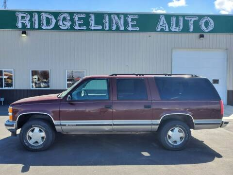 1999 Chevrolet Suburban for sale at RIDGELINE AUTO in Chubbuck ID