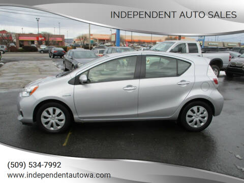 2014 Toyota Prius c for sale at Independent Auto Sales #2 in Spokane WA