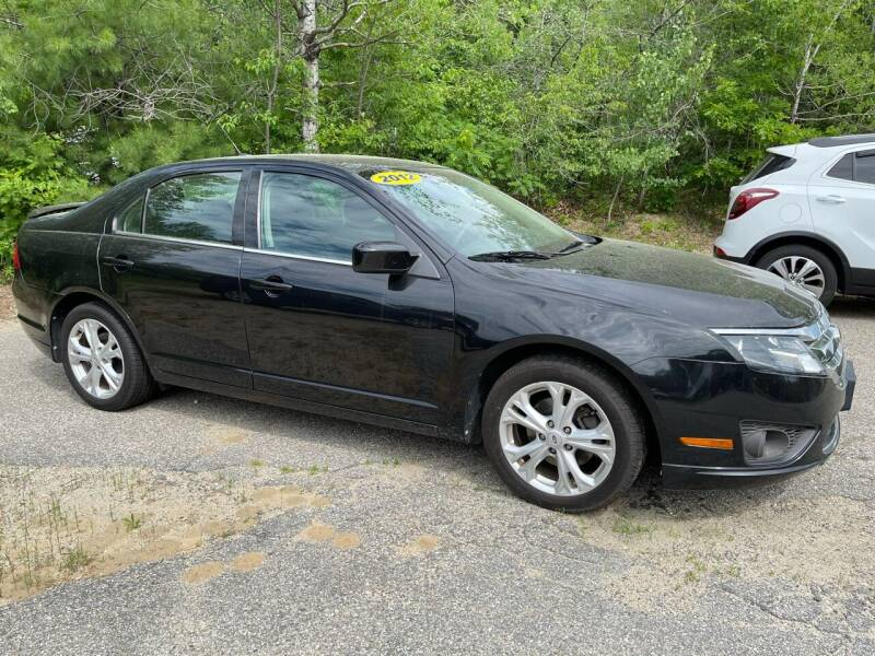 2012 Ford Fusion for sale at Downeast Auto Inc in South Waterboro ME