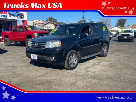 2012 Honda Pilot for sale at Trucks Max USA in Manteca CA