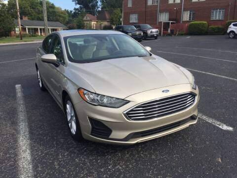 2019 Ford Fusion Hybrid for sale at DEALS ON WHEELS in Moulton AL