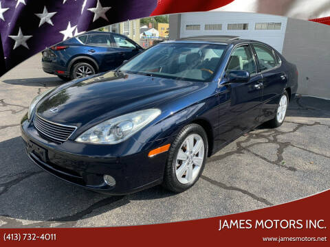 2005 Lexus ES 330 for sale at James Motors Inc. in East Longmeadow MA
