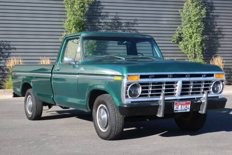 1977 Ford F-150 for sale at Sun Valley Auto Sales in Hailey ID