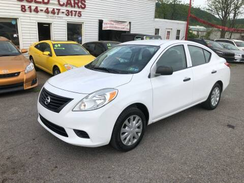 2014 Nissan Versa for sale at George's Used Cars Inc in Orbisonia PA