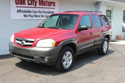 2004 Mazda Tribute for sale at Oak City Motors in Garner NC