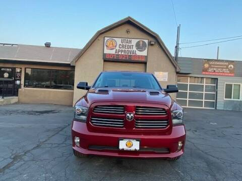 2013 RAM Ram Pickup 1500 for sale at Utah Credit Approval Auto Sales in Murray UT