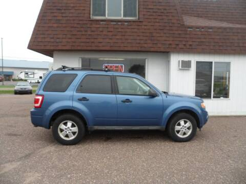 2010 Ford Escape for sale at Paul Oman's Westside Auto Sales in Chippewa Falls WI