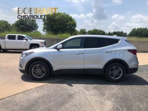 2017 Hyundai Santa Fe Sport for sale at BOB HART CHEVROLET in Vinita OK
