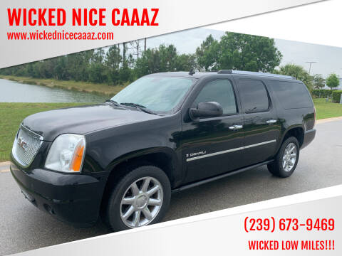 2009 GMC Yukon XL for sale at WICKED NICE CAAAZ in Cape Coral FL