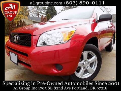2008 Toyota RAV4 for sale at A1 Group Inc in Portland OR