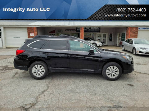 2019 Subaru Outback for sale at Integrity Auto LLC - Integrity Auto 2.0 in St. Albans VT