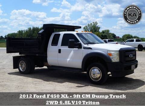 2014 Ford F-450 Super Duty for sale at KA Commercial Trucks, LLC in Dassel MN