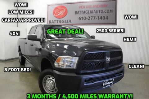 2013 RAM Ram Pickup 2500 for sale at Battaglia Auto Sales in Plymouth Meeting PA