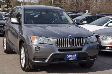 2014 BMW X3 for sale at Amati Auto Group in Hooksett NH