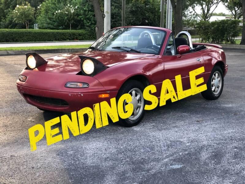 1992 Mazda MX-5 Miata for sale at Mycarsonline LLC in Sanford FL