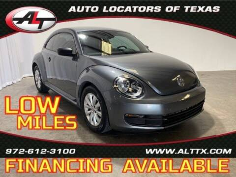 2016 Volkswagen Beetle for sale at AUTO LOCATORS OF TEXAS in Plano TX