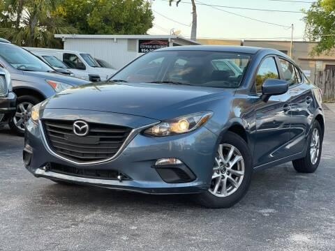 2016 Mazda MAZDA3 for sale at Citywide Auto Group LLC in Pompano Beach FL