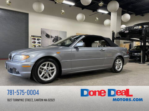2004 BMW 3 Series for sale at DONE DEAL MOTORS in Canton MA