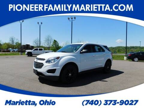 2017 Chevrolet Equinox for sale at Pioneer Family preowned autos in Williamstown WV