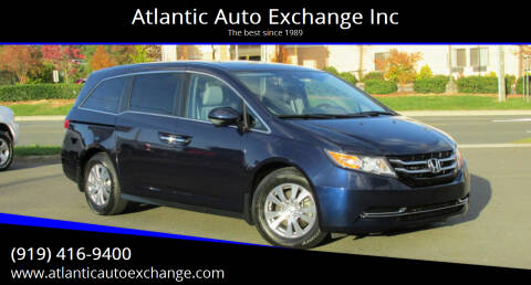 2016 Honda Odyssey for sale at Atlantic Auto Exchange Inc in Durham NC