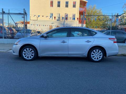 2013 Nissan Sentra for sale at G1 Auto Sales in Paterson NJ