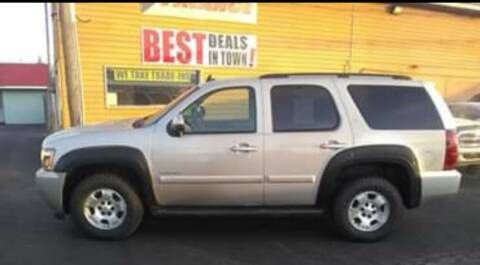 2008 Chevrolet Tahoe for sale at American Auto Group LLC in Saginaw MI