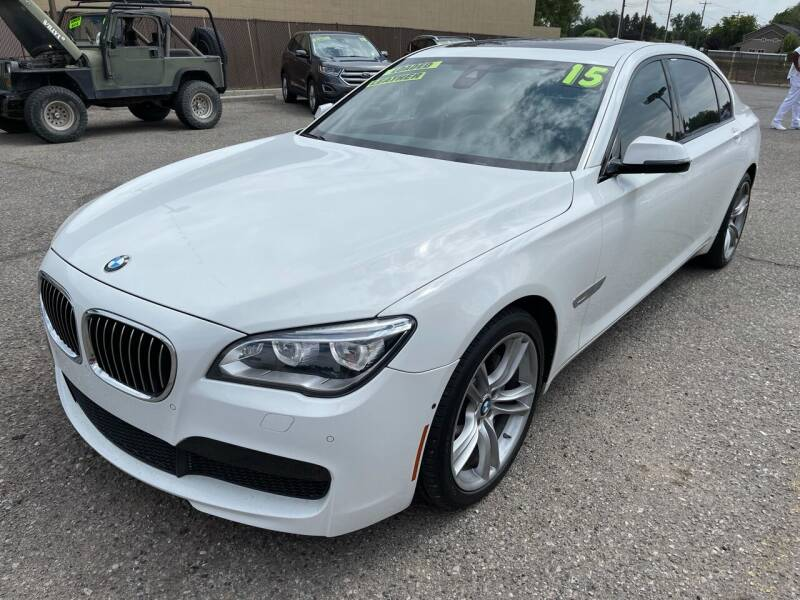 2015 BMW 7 Series for sale at M.A.S.S. Motors - MASS MOTORS in Boise ID