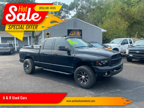 2003 Dodge Ram Pickup 2500 for sale at A & R Used Cars in Clayton NJ