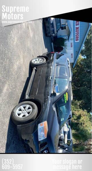 2010 Nissan Armada for sale at Supreme Motors in Tavares FL