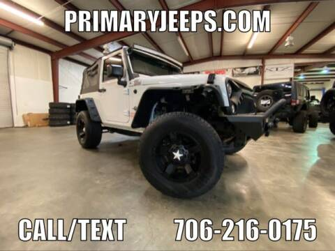 2015 Jeep Wrangler for sale at Primary Auto Group Jeeps Hummers Tacomas in Dawsonville GA