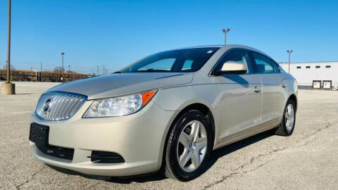2010 Buick LaCrosse for sale at TOP YIN MOTORS in Mount Prospect IL