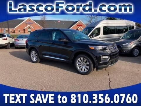 2021 Ford Explorer for sale at LASCO FORD in Fenton MI