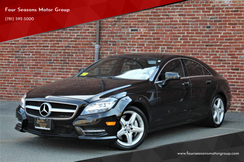 2014 Mercedes-Benz CLS for sale at Four Seasons Motor Group in Swampscott MA