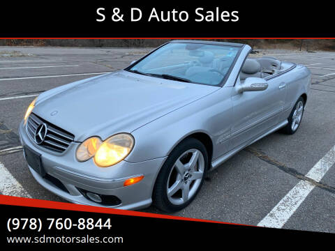 2005 Mercedes-Benz CLK for sale at S & D Auto Sales in Maynard MA