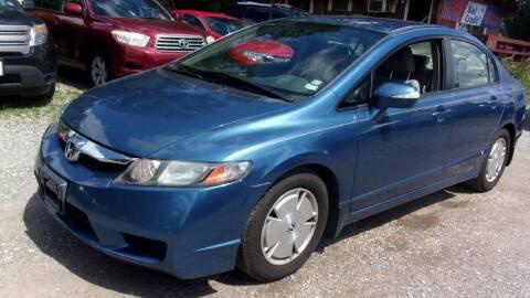 2010 Honda Civic for sale at Select Cars Of Thornburg in Fredericksburg VA